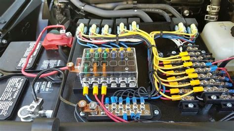 Organized Wiring Accessory Off Road Truck
