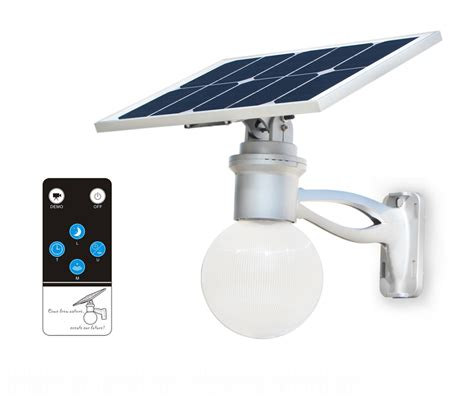 8w led solar light remote ae light