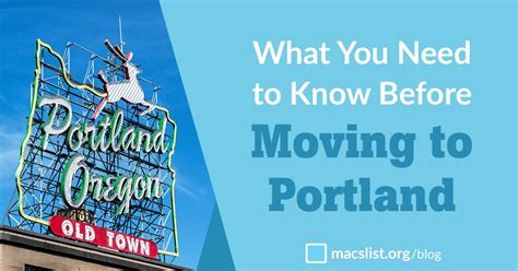 10 Things You Need To Know Before Moving To Portland