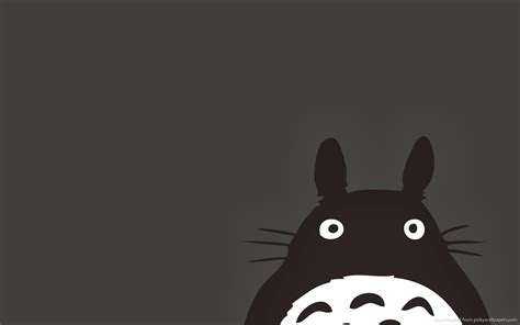 wallpaper archives cliche graphique hd totoro desktop wallpapers collection picfish