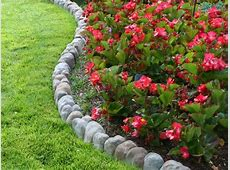 Back yard flower bed edging idea #1 Raised Flowerbed