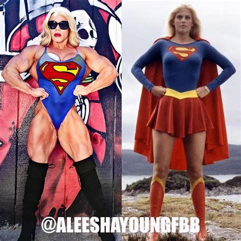 Pin By Äani HaskoviÄ On Female Bodybuilder Superhero