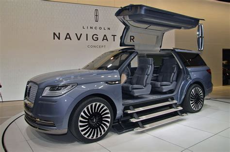 Lincoln Blows The Doors Off With New Navigator Concept By