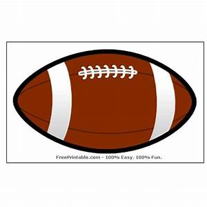 free football party templates to download from online sources With football cutout template