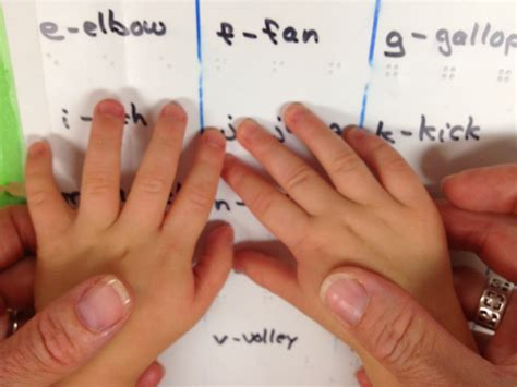 making braille fun meaningful  developmental  young