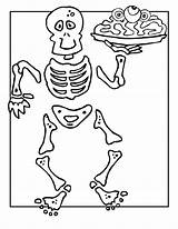 Skeleton Coloring Pages Printable Halloween Skeletons Bones Colouring Template Human Anatomy Sheet Bestcoloringpagesforkids Skull Minecraft Funny Tv Ben Scary Sheets sketch template