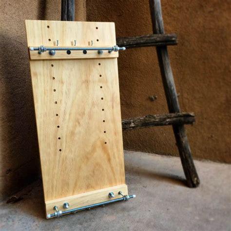handmade solid wood professional beading loom adjustable