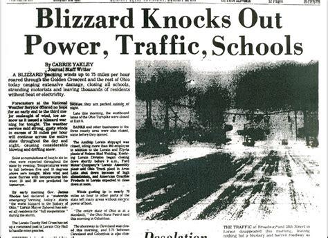 Blizzard 1978 Columbus Ohio