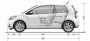 Dimension Volkswagen Up : seat mii se specifications seat ~ Medecine-chirurgie-esthetiques.com Avis de Voitures