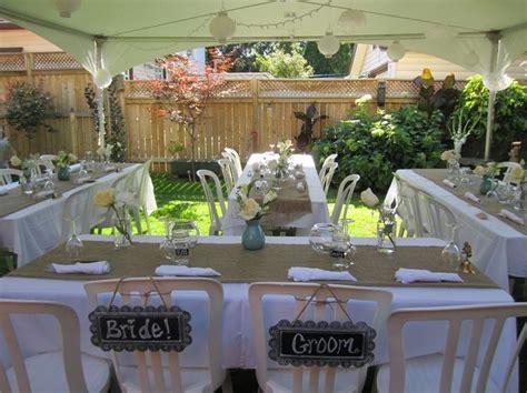 pin by amy urroz on wedding ideas backyard wedding