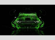 Dodge Challenger Muscle Front Fire Abstract Car 2014 el Tony