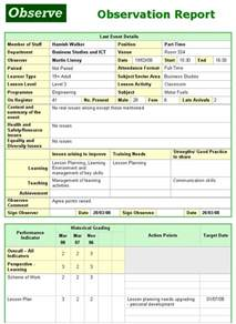 Student Services Coordinator Cover Letter Observation Report