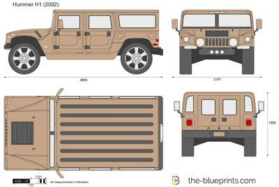 blueprints cars hummer hummer