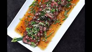 Andrew Zimmern Cooks  Beef Tataki