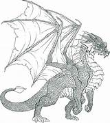 Dragon Coloring Realistic Pages Dragoart Worksheets Via sketch template