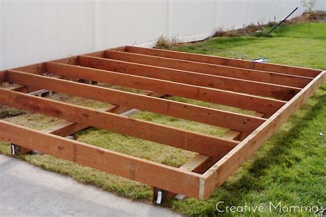 how to level a shed creative mommas build a foundation for a shed