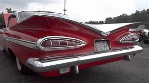 1959 Chevy Impala Coupe 2-door Fresh From Storage Walk Around Short Tour