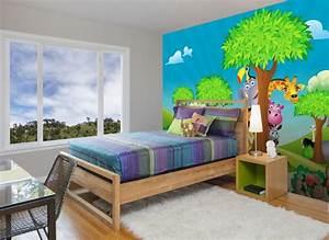 Fototapete Kinderzimmer Wald : wandmotiv24 fototapete kinderzimmer tiere wald ~ Watch28wear.com Haus und Dekorationen
