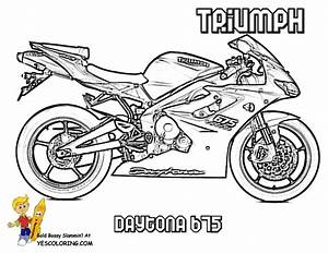 free coloring pages of street bikes With honda bikes street