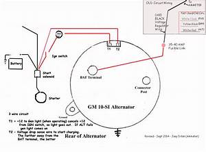 1 Gm Alternator Wiring Diagram