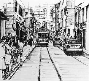 tips for sketching a cityscape arttutor