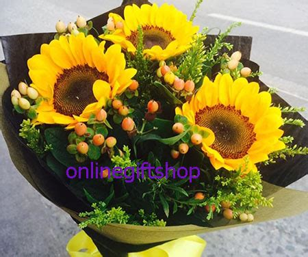 sendflowersphilippinescom  sunflower bunch