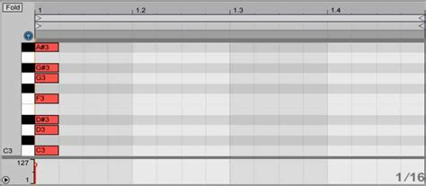 midi tricks  scaled clips  ableton template