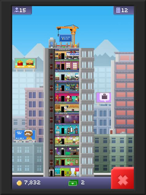 Tiny Tower Floors 2017 by Mobile Gaming And The Simulation Genre A