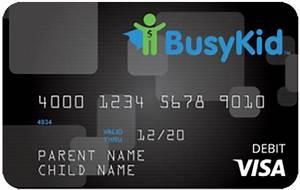 Kid  Teen  Family Prepaid  Debit Cards