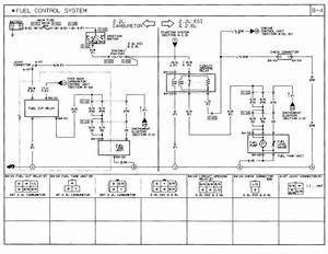 1991 Mazda B2600i Engine Control Wiring Diagram