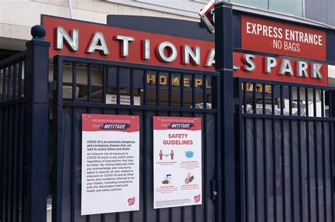After COVID outbreak, Nats wait to hear about facing Braves