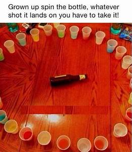 Spin The Bottle For Adults Whatever Shot It Lands On You