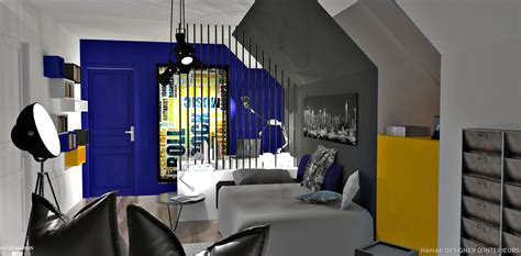 chambre stylé ado chambre ado style industriel
