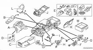 2002 Nissan Frontier Parts Diagram