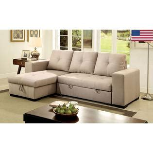 Small Sectional Sofa With Storage by Furniture Of America Living Room Small Sectional Sofa W