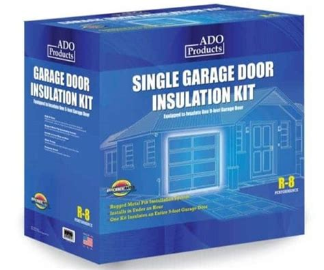garage insulation kit top 5 garage door insulation kit choices choose the right one
