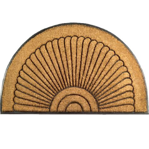 Half Circle Doormat by Half Coir Doormat In Doormats