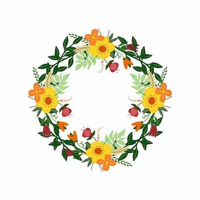 Wreath Clipart Illustration Floral Flowers Domain