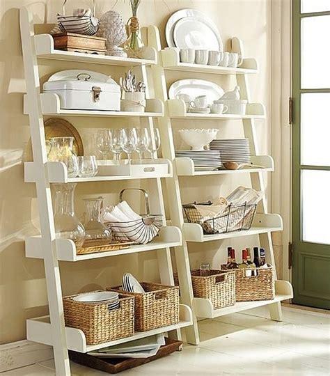 etagere pour cuisine 50 idées d 39 étagère échelle pour un intérieur original