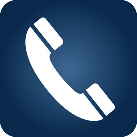 telephone icon vector transparent file telephone icon blue gradient svg wikimedia commons