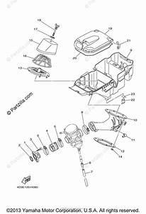 Yamaha Atv 2011 Oem Parts Diagram For Intake