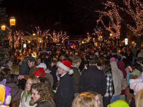 santa parade tree lighting    madison