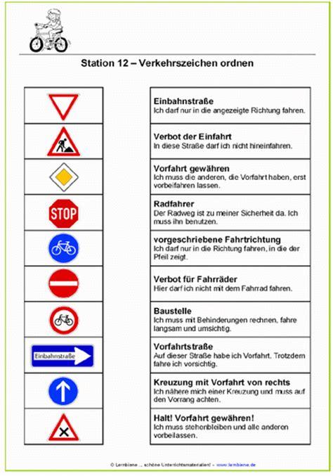 Verkehrsregeln Quiz by Verkehrsschilder Lernen Grundschule Verkehrszeichen Der