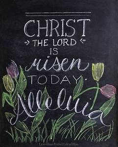 Easter Chalkboards - Creative Inspiration For Holiday ...