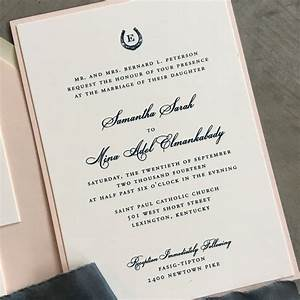 sample bluegrass charm wedding invitation with hand drawn With paper source wedding invitations reviews