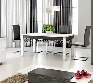 Salle A Manger Design : table a manger design lizea zd1 tab r d ~ Teatrodelosmanantiales.com Idées de Décoration