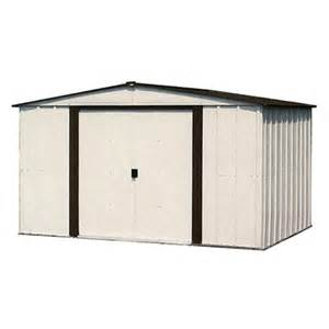 arrow designer 10 x 8 steel storage shed