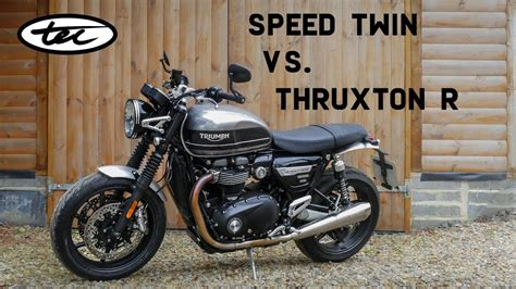 Thruxton Vs Triumph Speed by Speed Vs Thruxton R New Parts Available