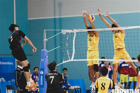 sea games volleyball men singapore lose   cambodia