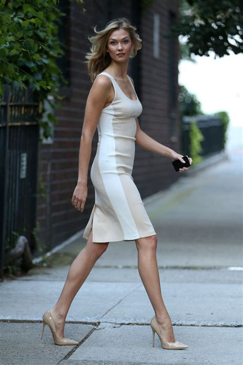 Karlie Kloss Style Stepping Out Nyc July